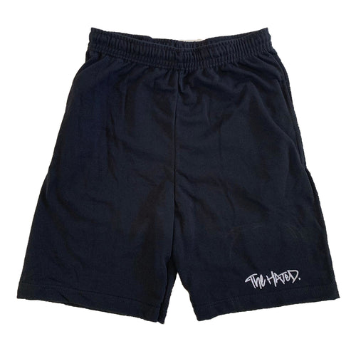 The Hated box logo light and breezy shorts - black