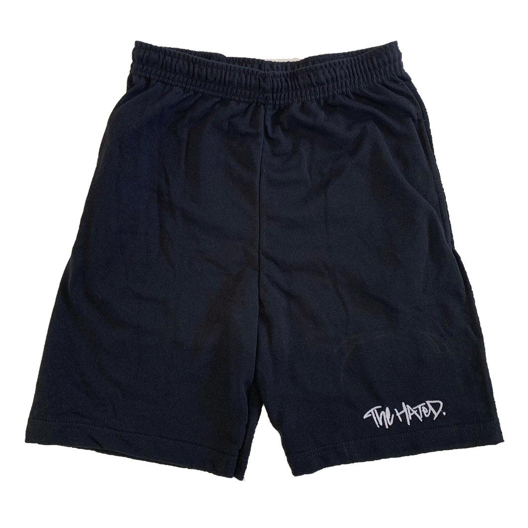 The Hated box logo light and breezy shorts - black - The Hated Skateboards