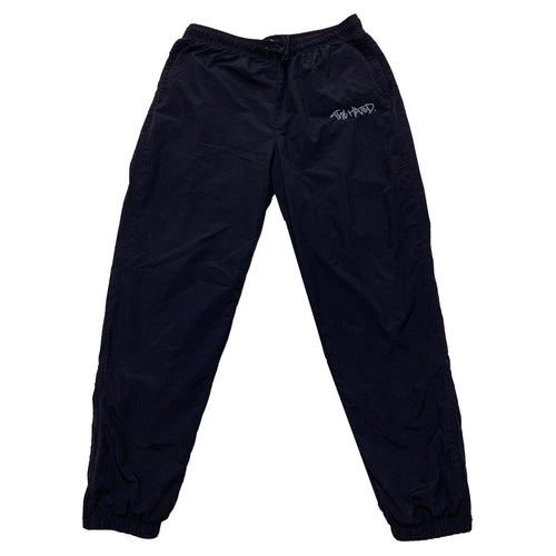 The Hated nylon tracksuit bottoms - Navy/baby blue - The Hated Skateboards