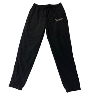 The Hated nylon tracksuit bottoms - Black/silver - The Hated Skateboards
