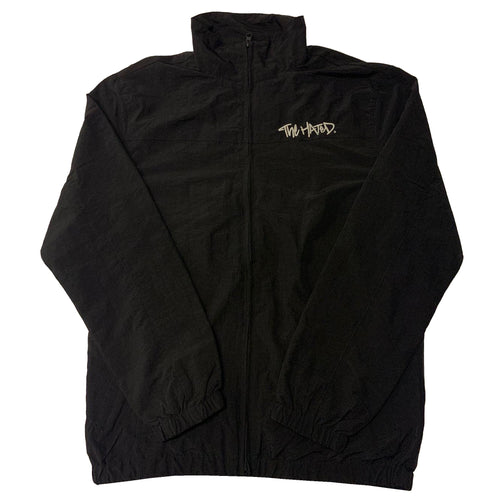 The Hated nylon tracksuit jacket - Black/silver - The Hated Skateboards