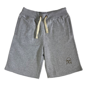 The Hated bally logo summer chilling shorts - grey - The Hated Skateboards