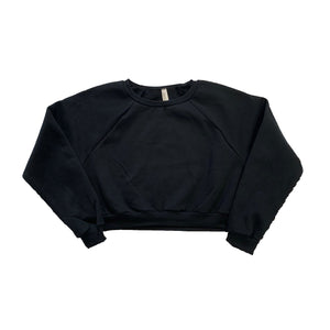 Size 10/12 The Hated crop pullover - black first edition