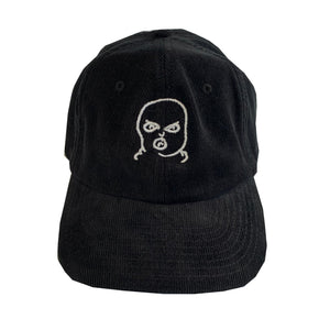 The Hated bally logo cord cap - black/white - The Hated Skateboards
