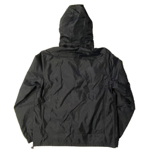 The Hated bally logo April showerman jacket - black