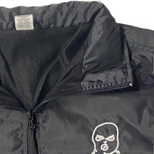 Load image into Gallery viewer, The Hated bally logo April showerman jacket - black