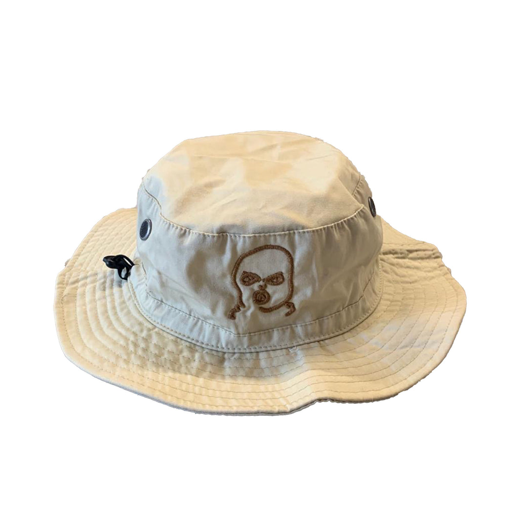 The Hated bally man bucket hat - stone - The Hated Skateboards