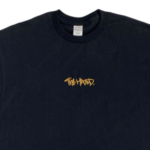 The Hated box logo T-Shirt - black/off gold