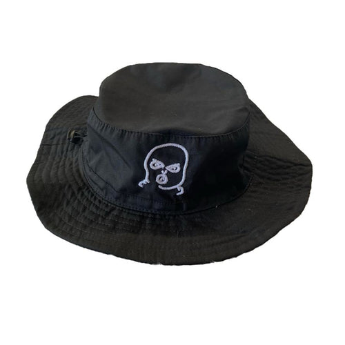 The Hated bally man bucket hat - black/white - The Hated Skateboards