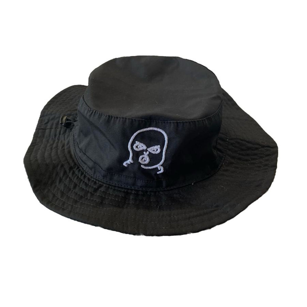 The Hated bally man bucket hat - black/white