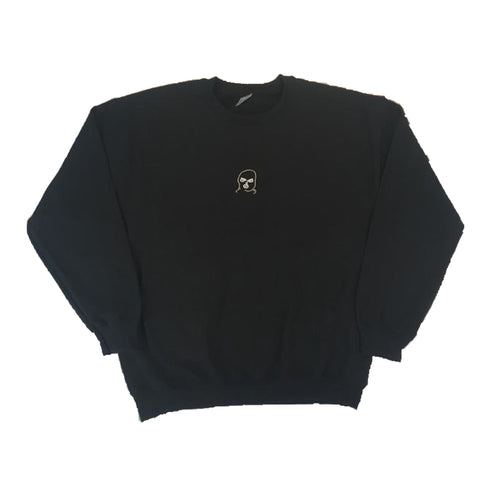 Large The Hated bally logo 2 tone sweatshirt - black/rust grey/white - The Hated Skateboards