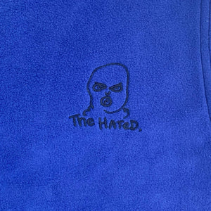 The Hated body warmer fleece - royal blue/navy - The Hated Skateboards