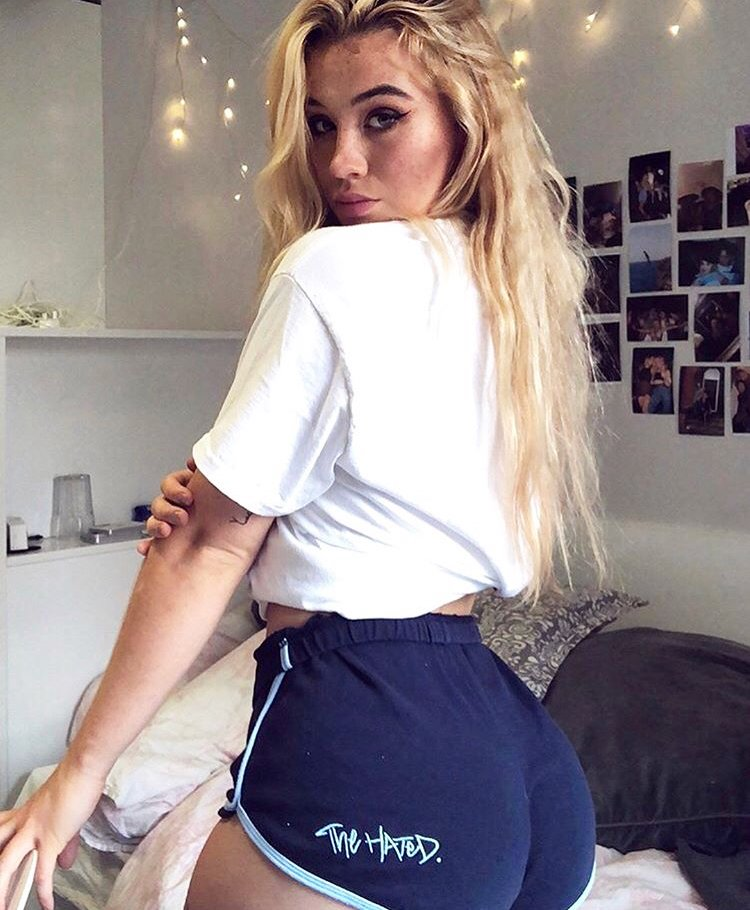 Booty Shorts - Blue