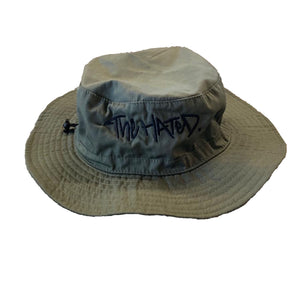 The Hated Bucket hat - Olive - The Hated Skateboards