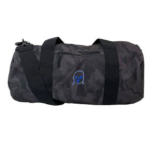 The Hated duffel bag - midnight camo/blue blend
