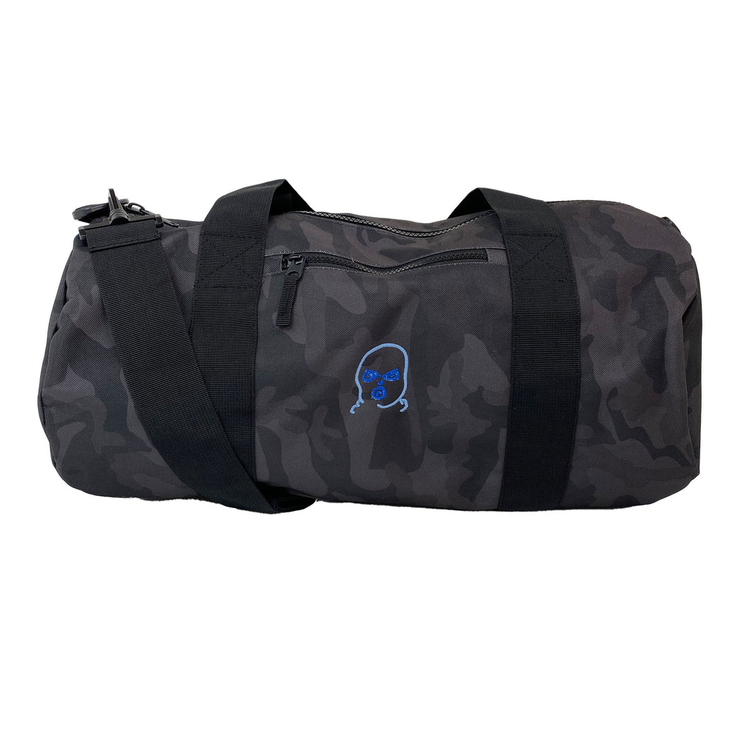 The Hated duffel bag - midnight camo/blue blend - The Hated Skateboards