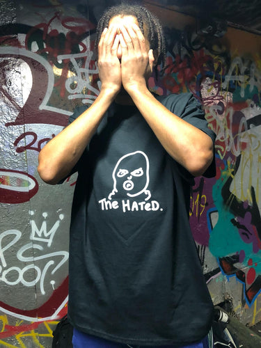 The Hated All Hail Cardiel T-Shirt - Black