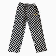 Load image into Gallery viewer, The Hated chef trousers - black/white check