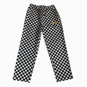 The Hated chef trousers - black/white check - The Hated Skateboards