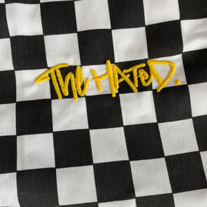The Hated chef trousers - black/white check