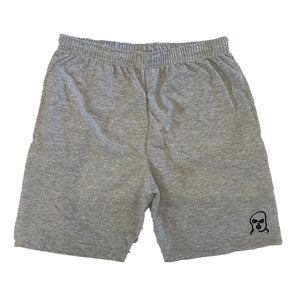 The Hated bally logo light and breezy shorts - grey - The Hated Skateboards