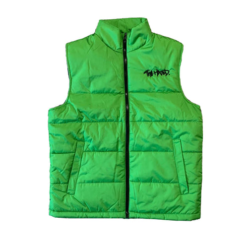The Hated box logo access body warmer - extreme green/black
