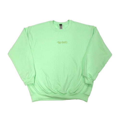 The Hated box logo Mint Green/Green Sweatshirt