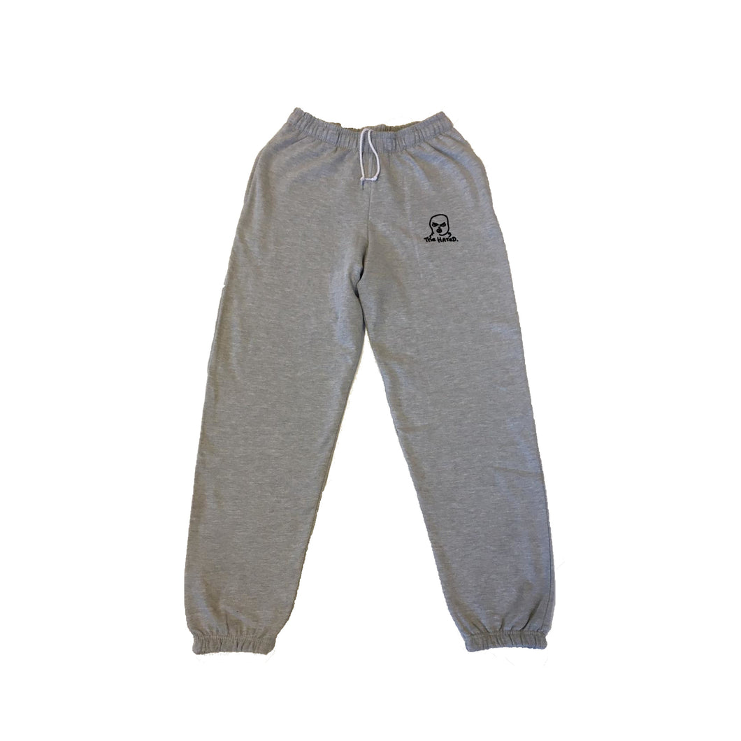 The Hated bally logo tracksuit bottoms - grey