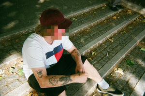 The Hated cord cap - Burgundy