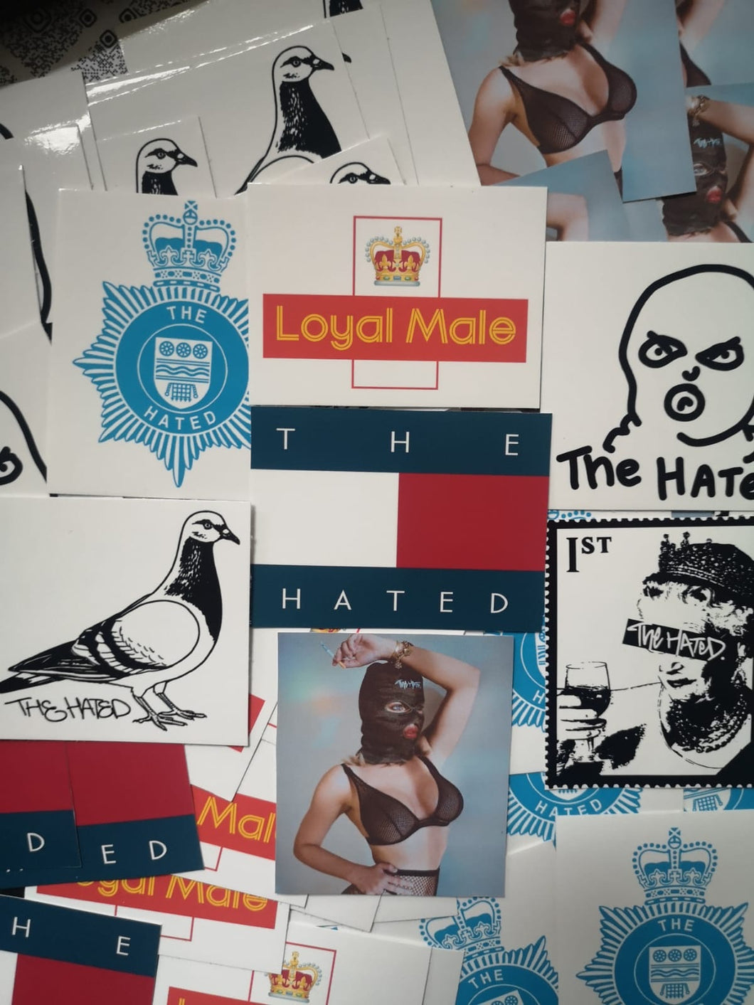 The Hated mixed sticker pack - The Hated Skateboards