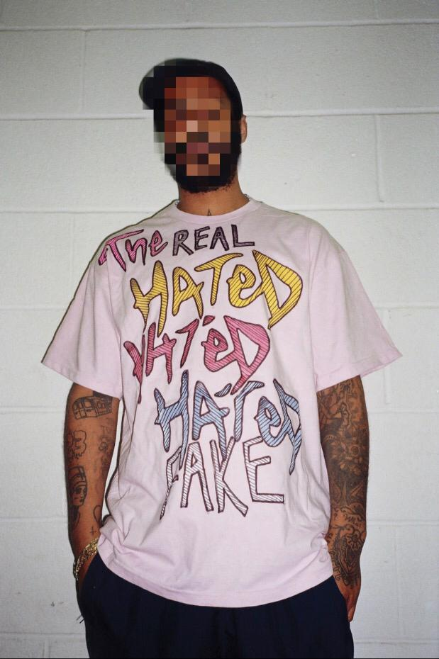 Real Fake x The Hated - Jazzy Jeff hand drawn T-Shirt