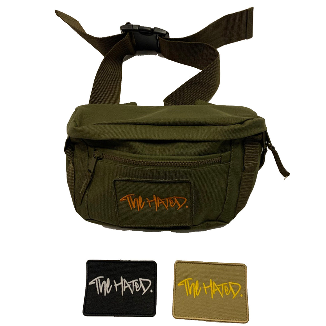 The Hated side bag v.2 (1 patch)