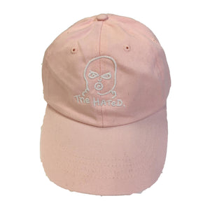 The Hated bally logo dad cap - pink - The Hated Skateboards