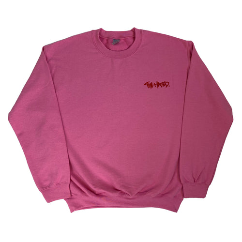 The Hated box logo baby sweatshirt - pink/red