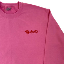 Load image into Gallery viewer, The Hated box logo baby sweatshirt - pink/red