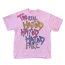 Load image into Gallery viewer, Real Fake x The Hated - Jazzy Jeff hand drawn T-Shirt - The Hated Skateboards