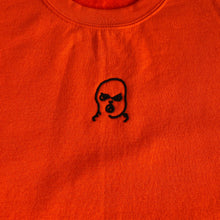 Load image into Gallery viewer, The Hated bally logo sweatshirt - orange/black