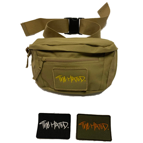 The Hated side bag v.2 (3 patches)