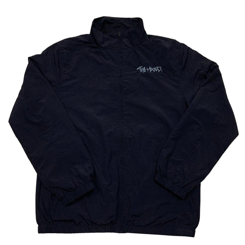 The Hated nylon tracksuit jacket - Navy/baby blue
