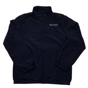 The Hated nylon tracksuit jacket - Navy/baby blue - The Hated Skateboards