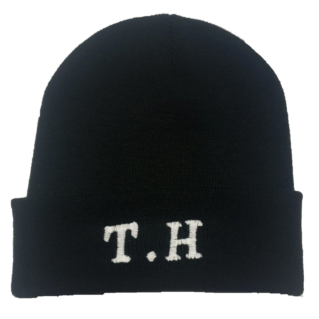 The Hated embroidered TH beanie