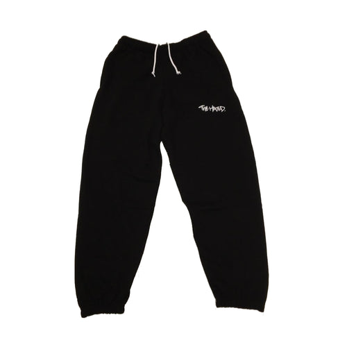 The Hated box logo tracksuit bottoms - black - The Hated Skateboards
