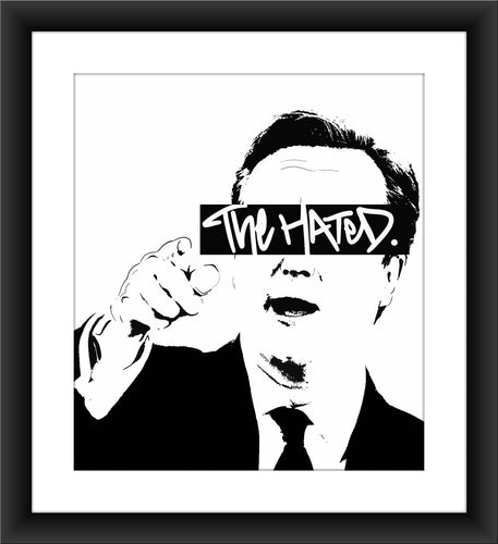 The Hated David Cameron A3 print