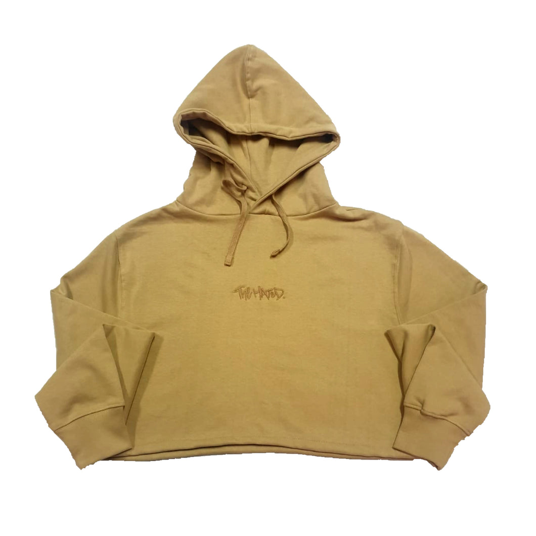 The Hated cropped hoody - Sandstorm