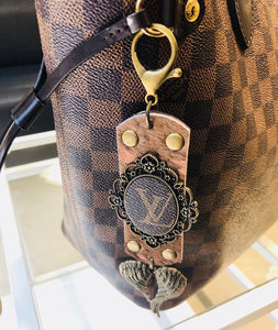 LV Purse Charm and or Keychain - Haute Mama