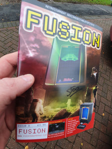 Issue #8 of Fusion - signed by Stoo Cambridge