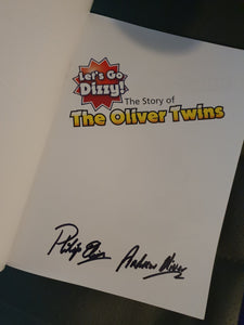 The story of the Oliver Twins - paperback - signed