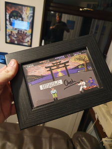 Signed A5 IK frame - signed by Archer Maclean