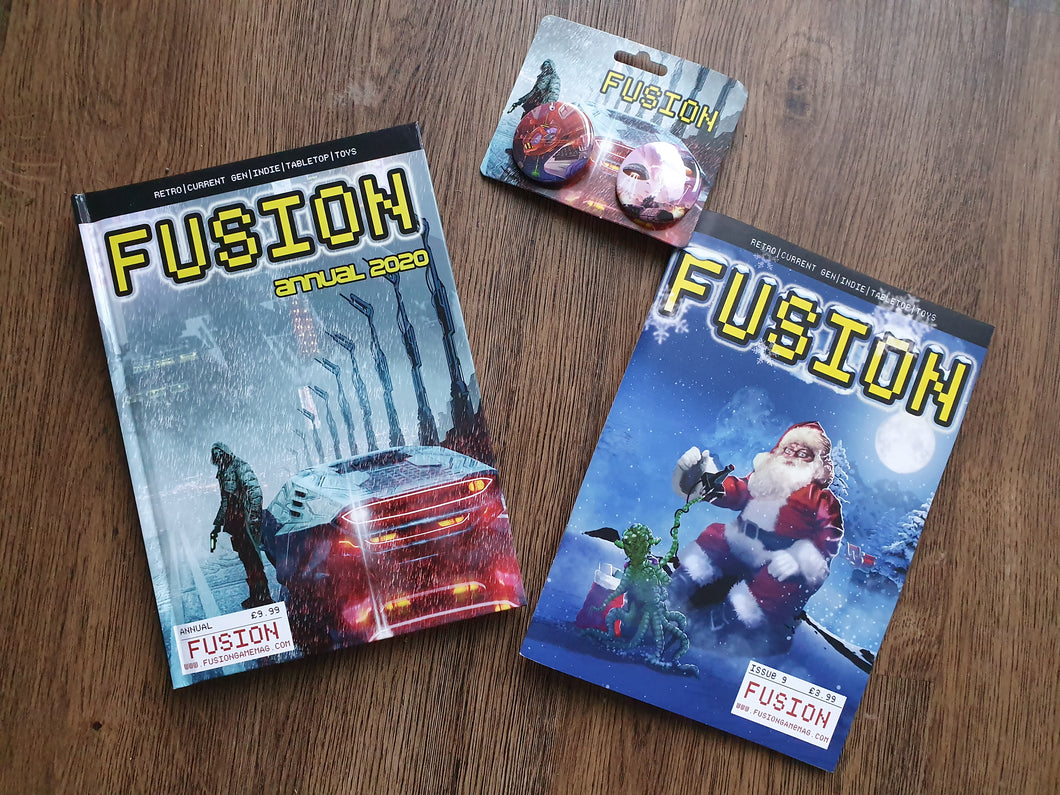 #2 - Fusion Annual - Signed by lots plus Issue #9