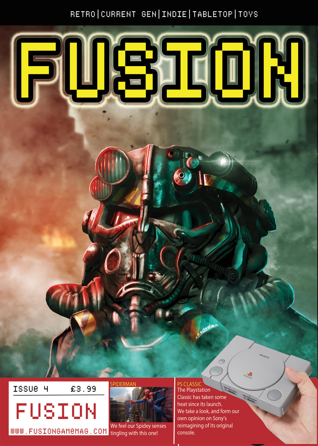Fusion Issue 4 - signed by The Oliver Twins